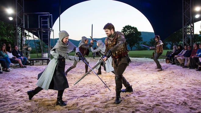 """The Heart Of Robin Hood""  at The Hudson Valley Shakespeare Festival."