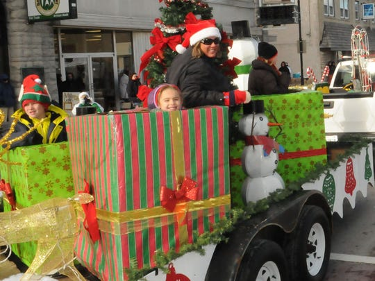 """Door County Cooperative """"present-ed"""" this float at"""