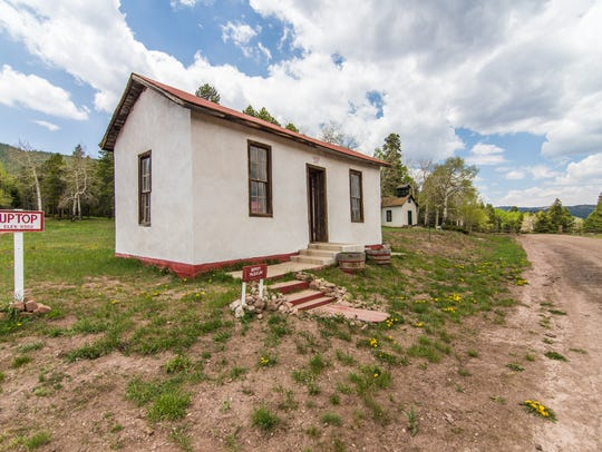 Uptop, Colorado, a former ghost town, is now for sale