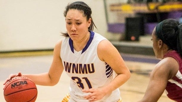 Western's Jade Botelho tallied 19 points for the Lady Mustangs and went 9-of-16 from the field against Chadron.