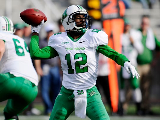 Can Marshall defend its C-USA crown without QB Rakeem