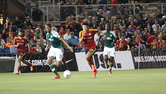 Long Tan is one of Arizona United's top scorers with two goals this season.