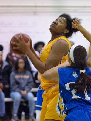 Milwaukee King junior Sydnee Roby averaged 17 points, 11 rebounds, 2.7 blocks.