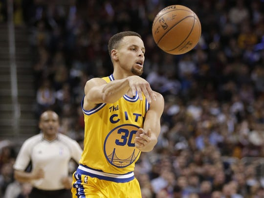 Stephen Curry was selected to his third All-Star game