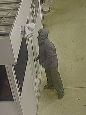 Police say this man tried to rob a gas station in Monroe on April 19.