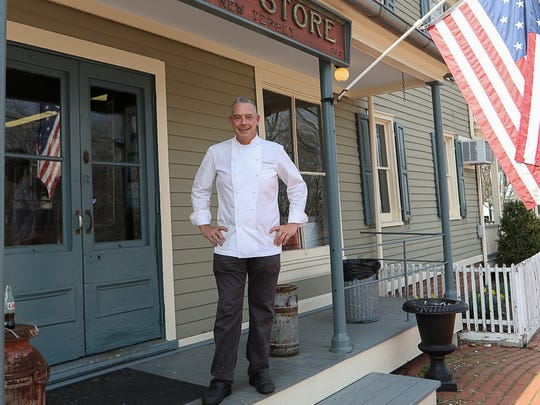 Chef Scott Cutaneo, current owner of the iconic Oldwick