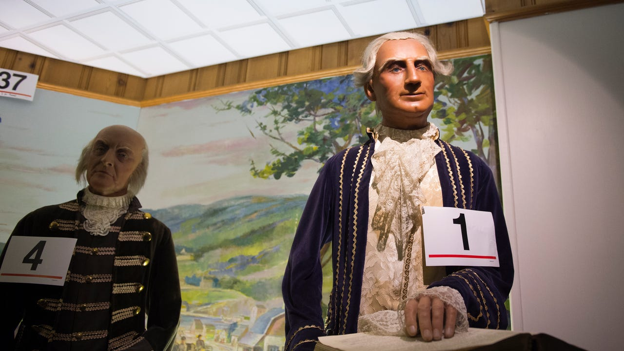 The Hall of Presidents and First Ladies Museum in Gettysburg, Pa.  is set to auction off hundreds of its presidential themed memorabilia on Jan. 14, 2017.