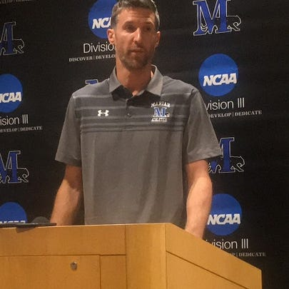 Drake Diener was introduced as the new men's basketball