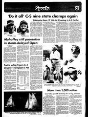 Battle Creek Sports History: Week of June 16, 1976
