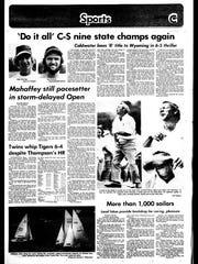 Battle Creek Sports History: Week of June 16, 1976