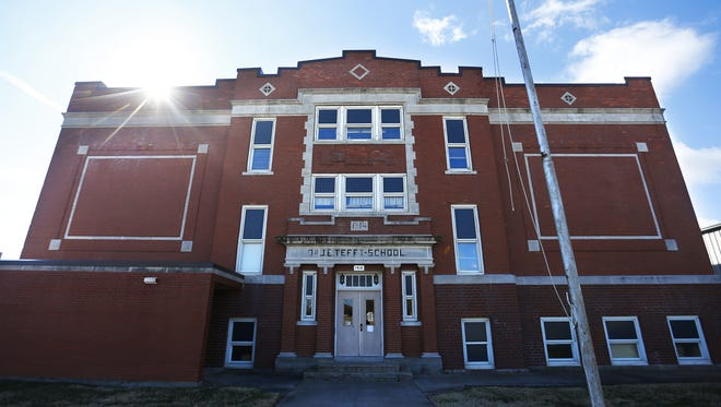 The former Tefft school, located at 1314 E. Pythian St., may be the future home of the Greene County Family Justice Center.