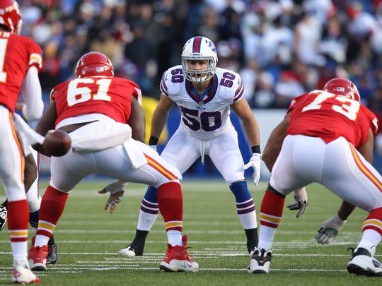 Bills rookie linebacker Kiko Alonso during the 2013 season.