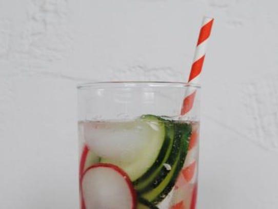 Cucumber Radish Cooler