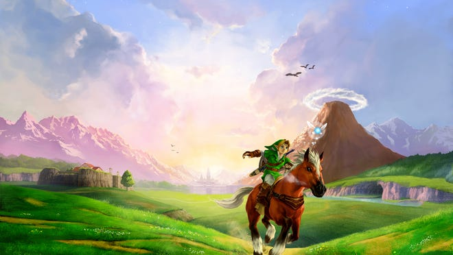"""""""The Legend of Zelda: Ocarina of Time"""" was remade for 3DS."""