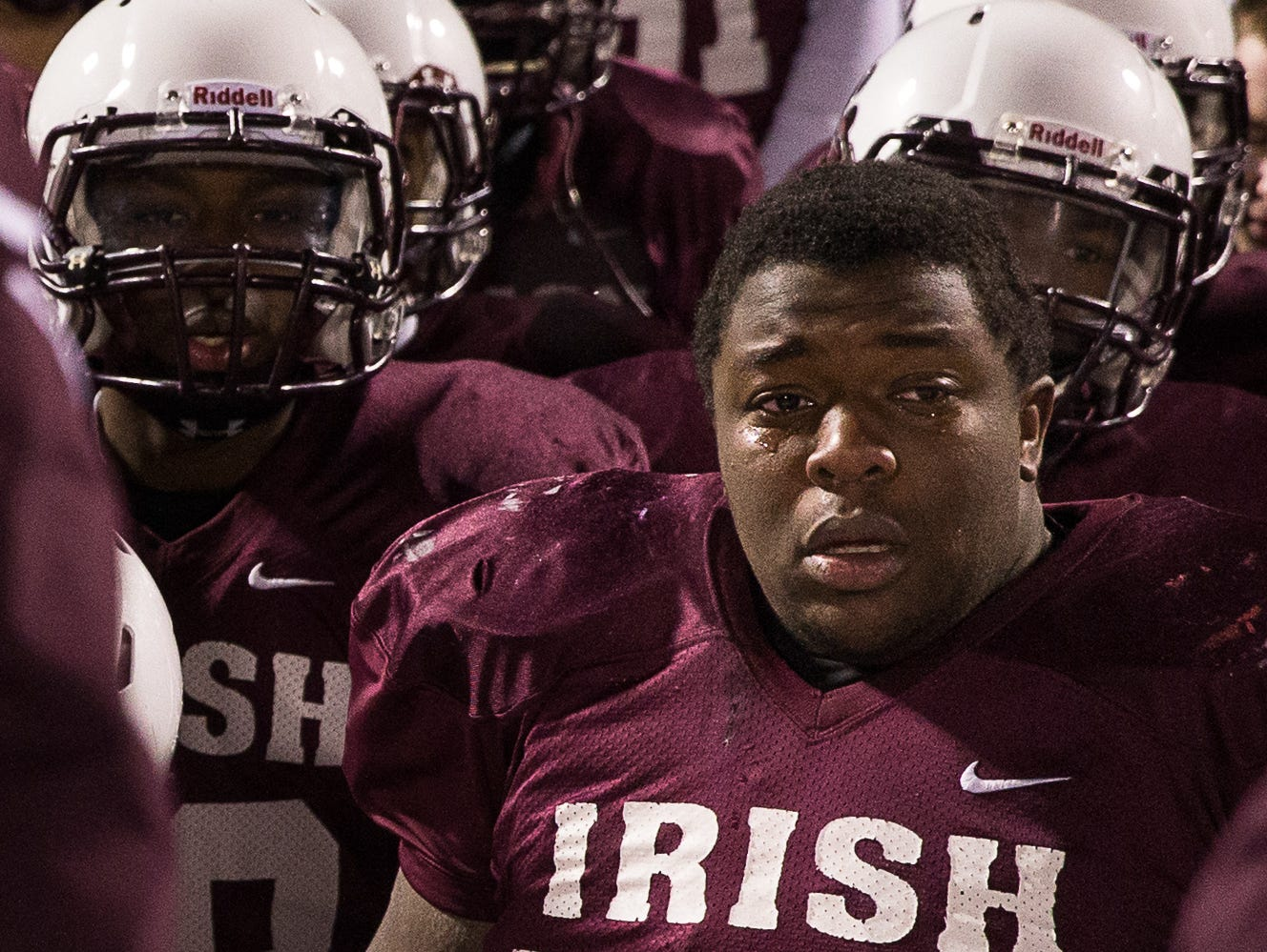 Defensive lineman Mike Holley - Class of 2014