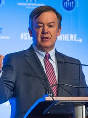 Arizona State President Michael Crow will not let his