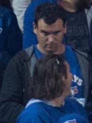 An image of the man Toronto police allegedly threw a beer can at the AL wild-card game.