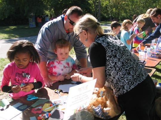 White River Festival organizers use art to teach kids about the importance of our watershed.