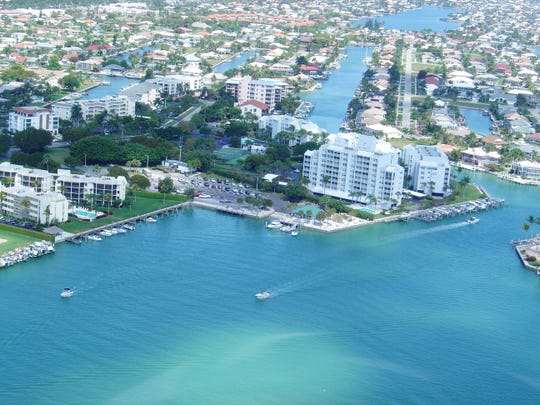 File: An aerial view of Marco Island.