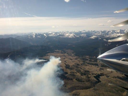 Elk Hill fire