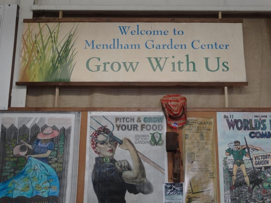 victory gardens sign - Mendham Garden Center