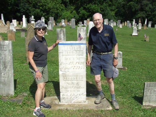 1 headstone