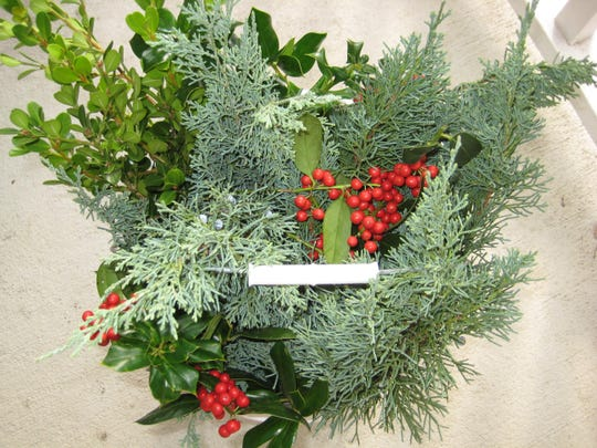 Forage in your own yard, or a friendly neighbor or family member's yard, and be sure to select a good variety of greenery.