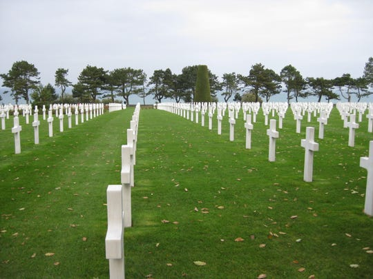 The Normandy American Cemetery and Memorial at Colleville-sur-Mer,