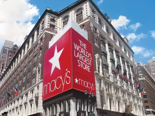 Macy's flagship store on Herald Square.