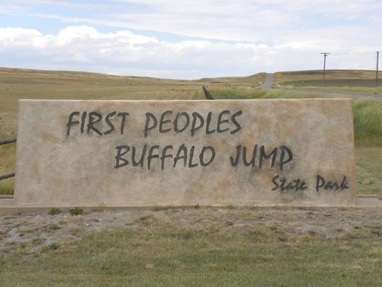 A hike will be held Wednesday at the First Peoples Buffalo Jump State Park in Ulm.