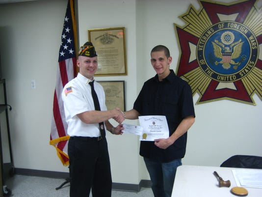 VFW Veteran Scholarship awarded 014.JPG