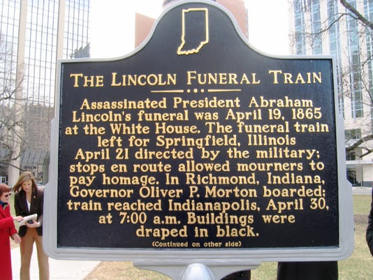funeral train sign