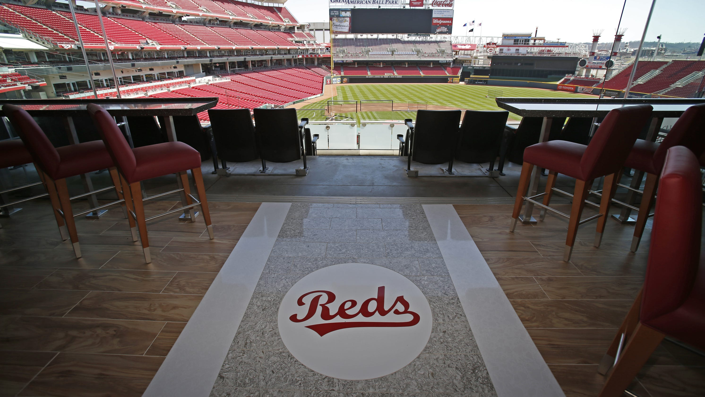 New Super Suites At Great American Ball Park