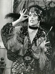 Carol Burnett as aging screen legend Nora Desmond on