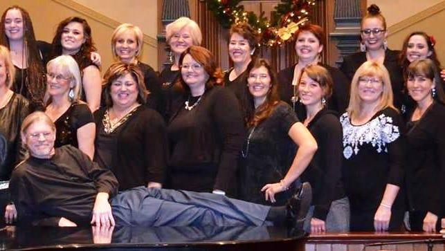 John Houston and his gospel choir