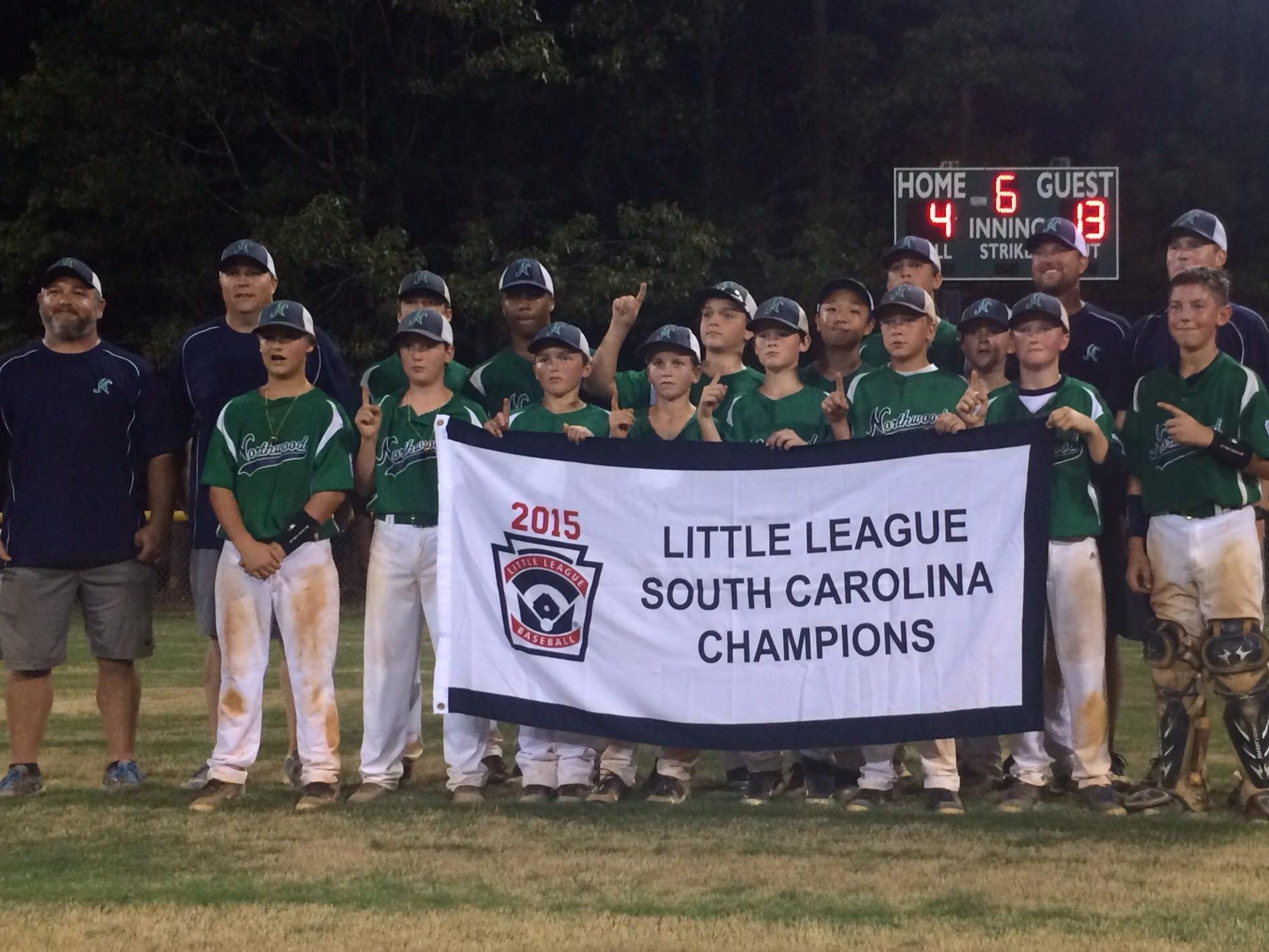 Northwood is within one victory of the Little League Baseball World Series after Tuesday's 5-4 win over Florida in the Southeast Regional in Warner Robins, Georgia.
