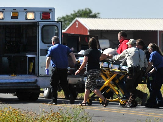 River Road motorcycle accident