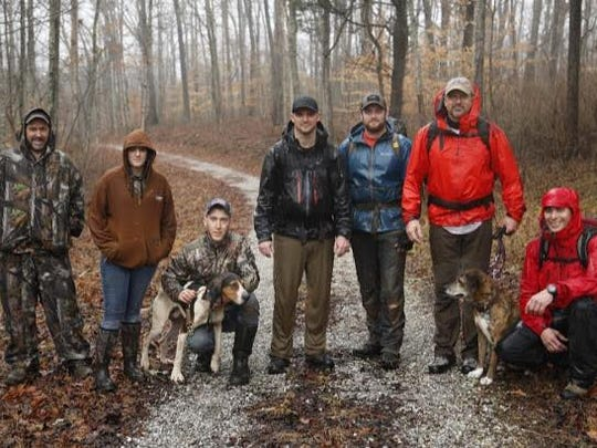The Knoxville Volunteer Emergency Rescue Squad (KVERS) assisted in the rescue of a dog that was found at the bottom of a 30 foot pit located in the Loyston Recreational area near Norris, TN on Saturday, February 10, 2018.
