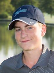 Josh Halasz, 16, Siegel High School golf team member.