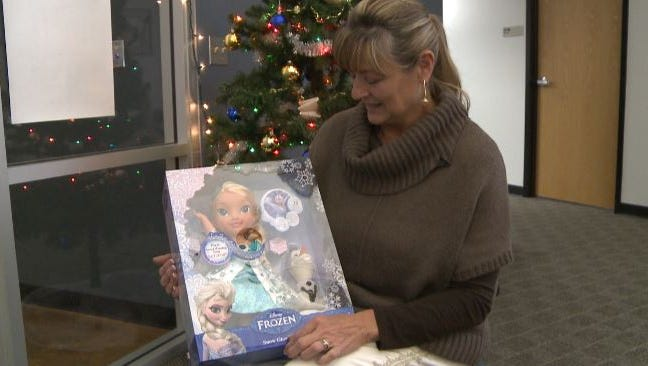 Flagstaff shopper Marsha Simon got her hands on the hard-to-find doll.