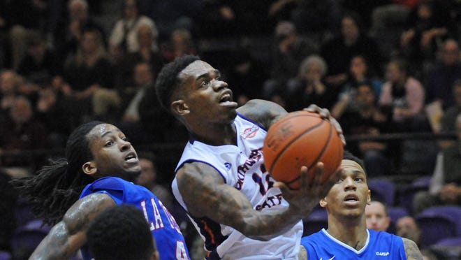 Northwestern State senior point guard Jalan West and the Demons begin the 2015-16 season Friday at Ole Miss.