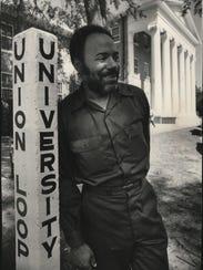 James Meredith at Oxford, 1972.