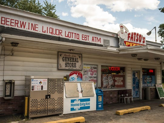 Fatso's Pizza, inside the Beadle Lake General Store, offers beer and wine delivery.