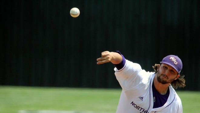 Northwestern State closer Brandon Smith is tied for fifth in school history with nine saves, seven of which have come this season.