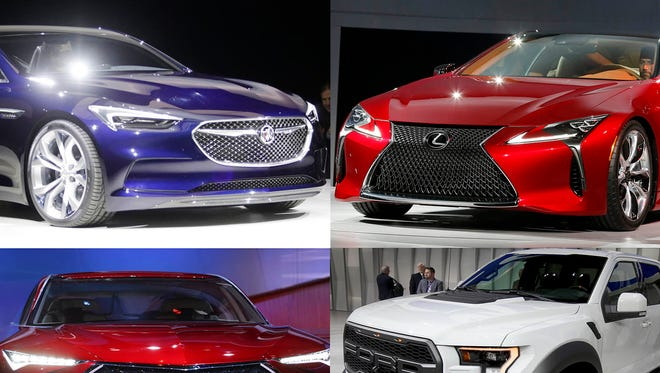 Mark Phelan's hits and misses at the 2016 North American International Auto Show.