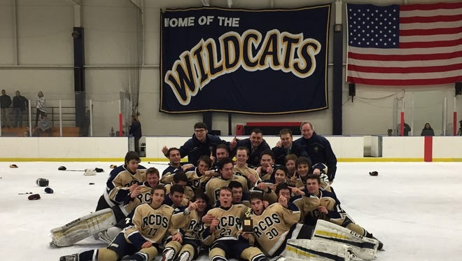 Rye Country Day School won its first FAA hockey title since 2014 with a 3-1 win over St. Luke's.