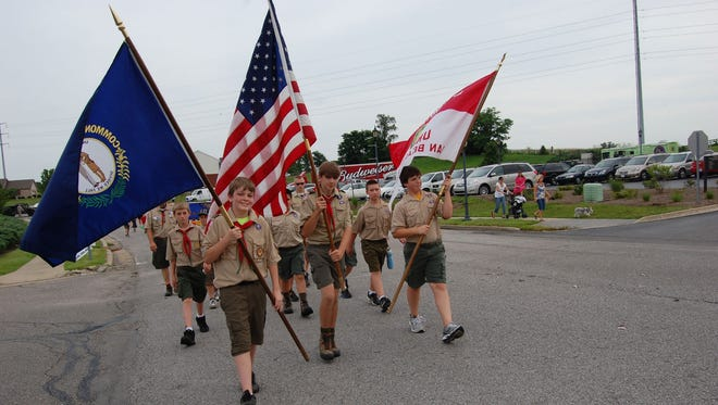 The annual Union Celebrates America parade is the traditional kickoff to the Fourth of July holiday in Boone County on June 30.