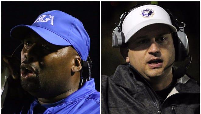 BGA coach Roc Batten (left) and CPA coach Ingle Martin (right)