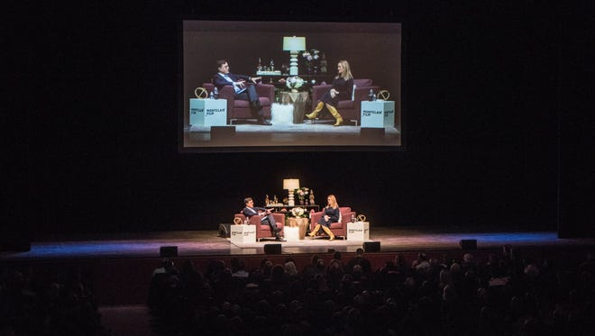 """Montclair Film holds its annual fundraiser at NJPAC in Newark on Dec. 2. Called """"SAD! A Happy Evening With Stephen Colbert and Samantha Bee,"""" the event was sponsored by NorthJersey.com."""
