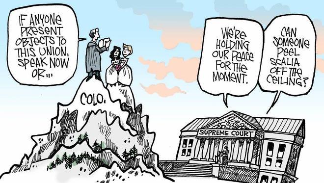 Supreme Court Same Sex Marriage.